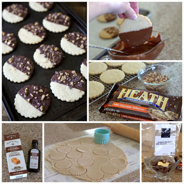 Chocolate-Covered-Caramel-Shortbread-Cookies-Collage-2-Barbara-Bakes