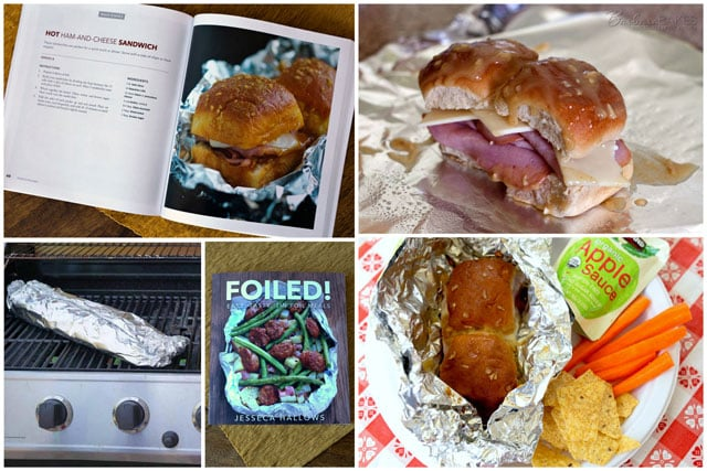 Quick, easy-to-make tin foil ham and cheese sandwiches are perfect for camping, or a fun backyard picnic.