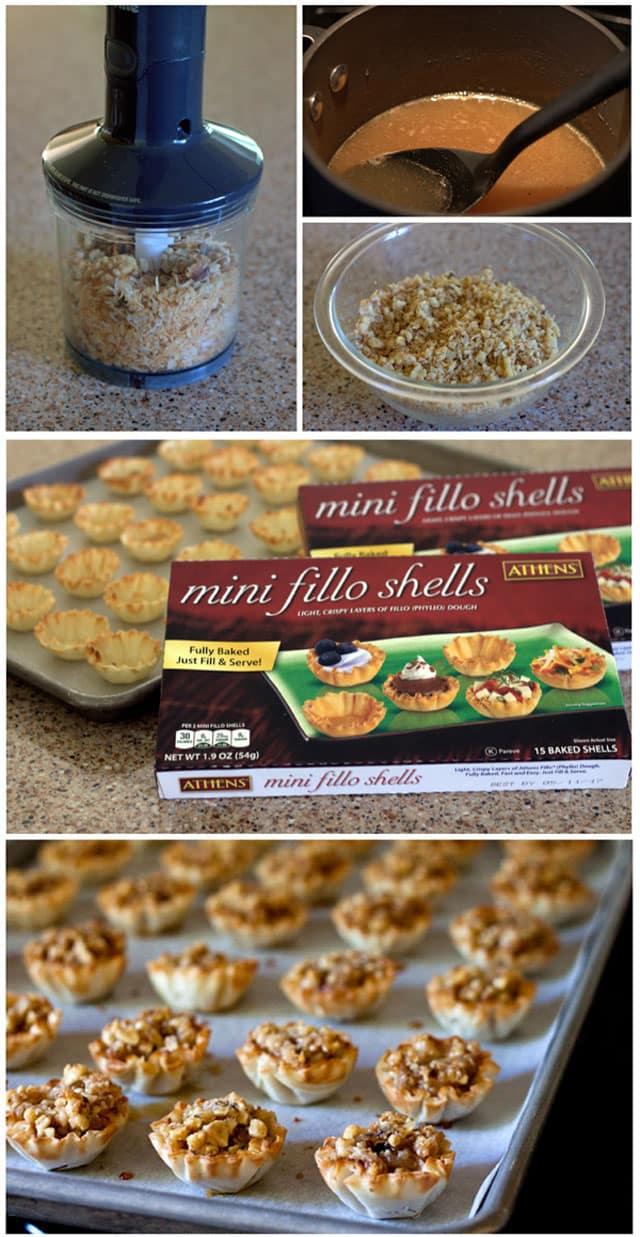 Making Hawaiian Baklava Bites
