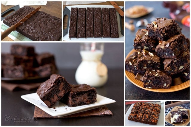 How To Cut Brownies and a Brownie Roundup - Barbara Bakes™