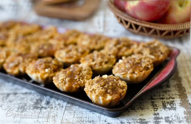 Dutch Caramel Apple Pie Bites