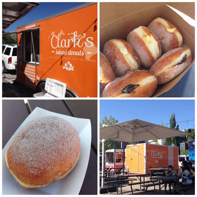 Clark's Island Donuts food truck