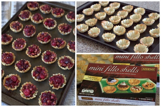 Making Cranberry Pecan Pie Bites
