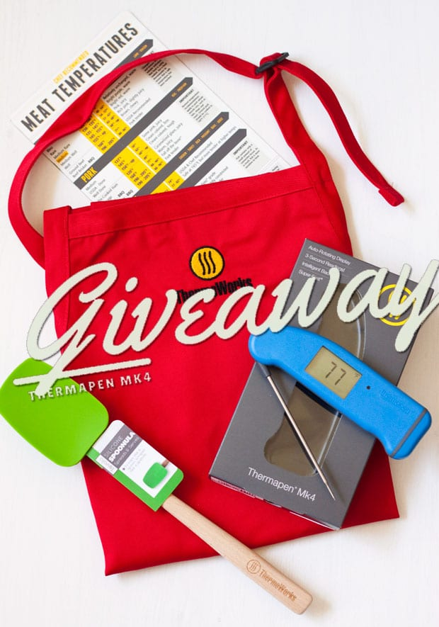 Thermoworks Thermapen Mk4 Giveaway Package