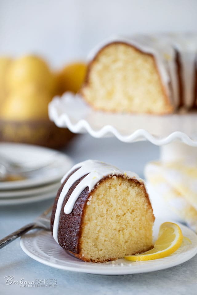 This Lemon Bliss Bundt cake is sweet and tart and super moist just like a lemon bundt cake should be. It's King Arthur Flour's 2017 Recipe of the Year.