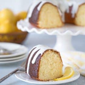 High Altitude Lemon Bundt Cake