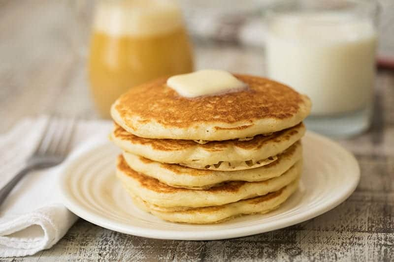 Melt in Your Mouth Buttermilk Pancakes with Buttermilk ...