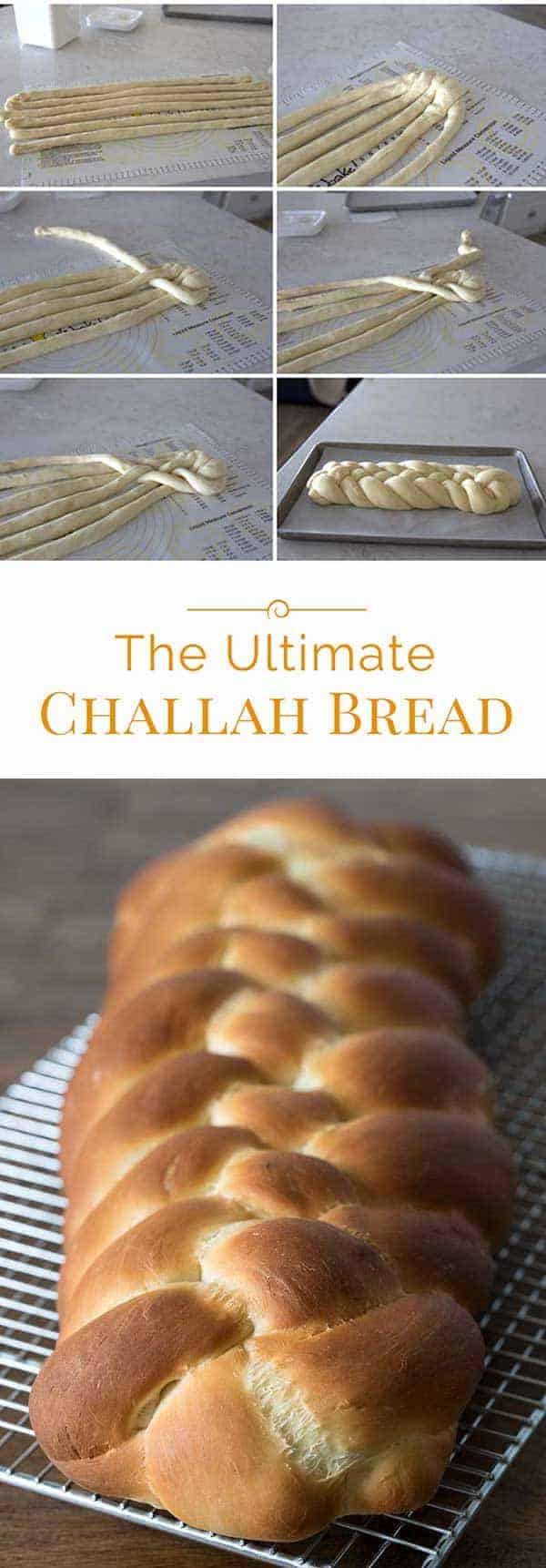 Challah is a rich, buttery bread made for the Jewish Sabbath. This Ultimate Challah Bread recipe is based on a recipe handed down from one generation to another.