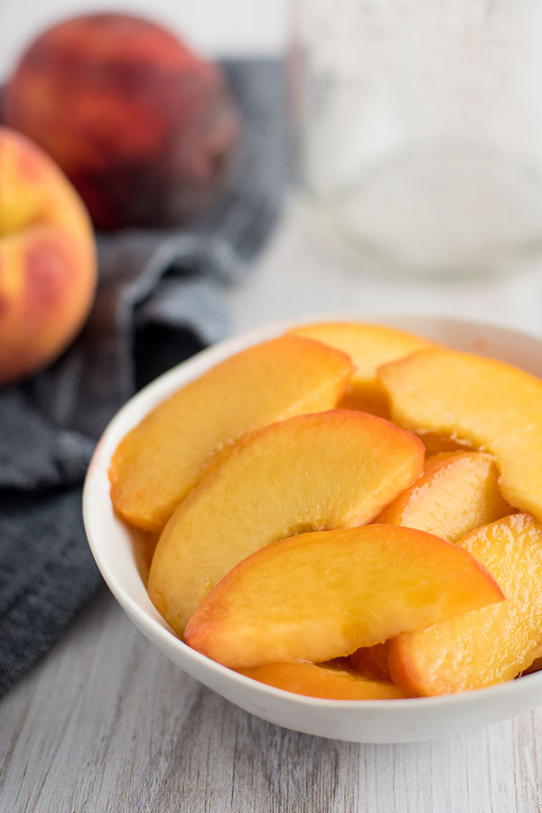 Recipe Ready Sliced Peaches