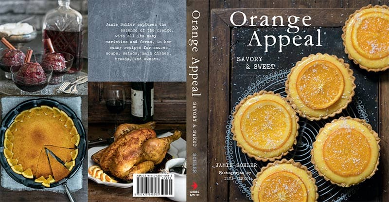 "The cookbook is filled with fabulous sweet and savory recipes with an orange twist. So you can ""add a little sunshine to every meal."""