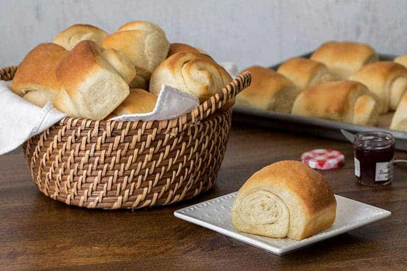 Lion House Rolls are big, fluffy, easy-to-make, old-fashioned dinner rolls