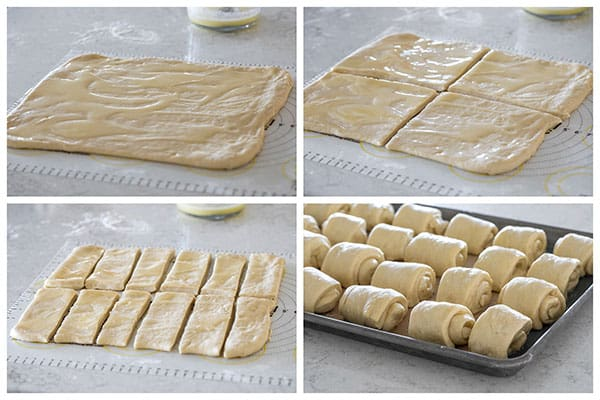 How to make and shape Lion House Rolls