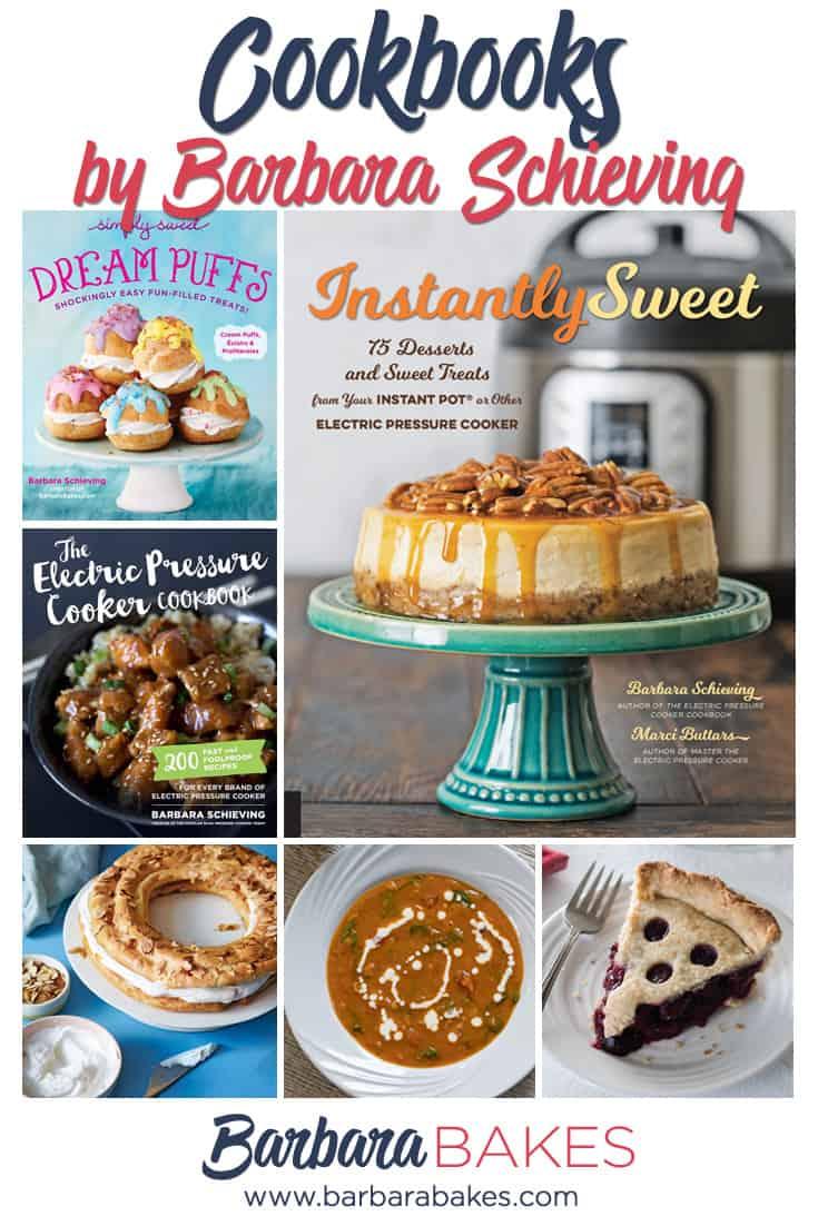 Barbara Schieving's cookbook collage via @barbarabakes