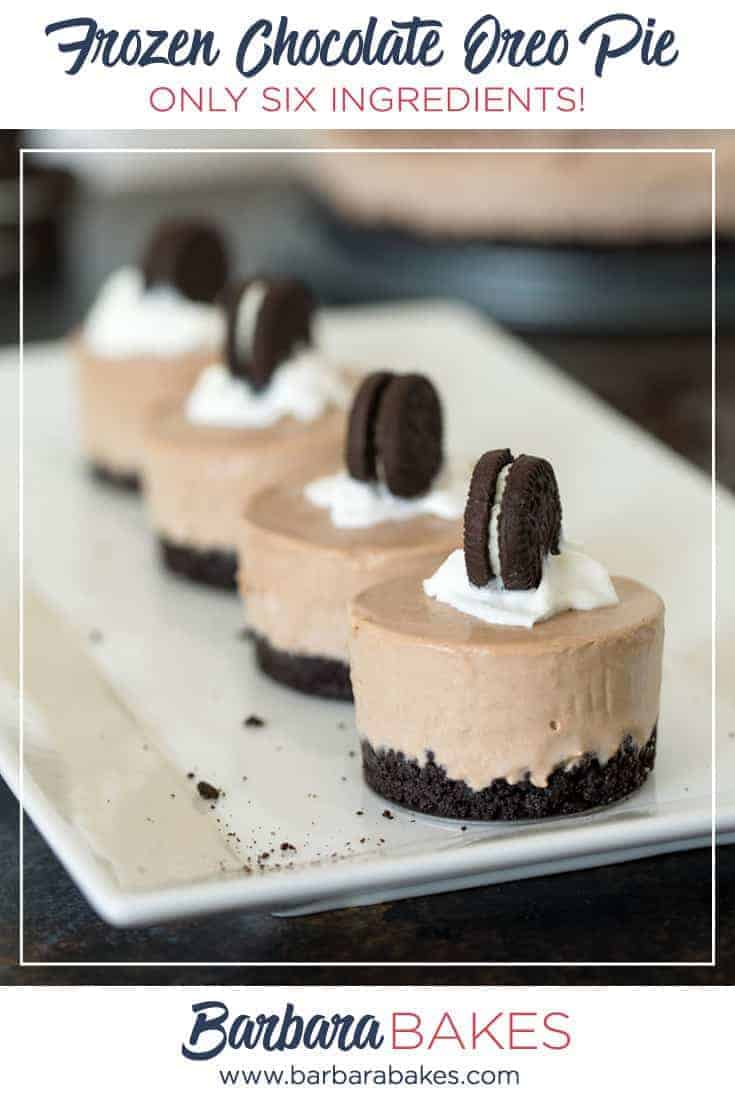 Frozen Chocolate Oreo Pie pinterest