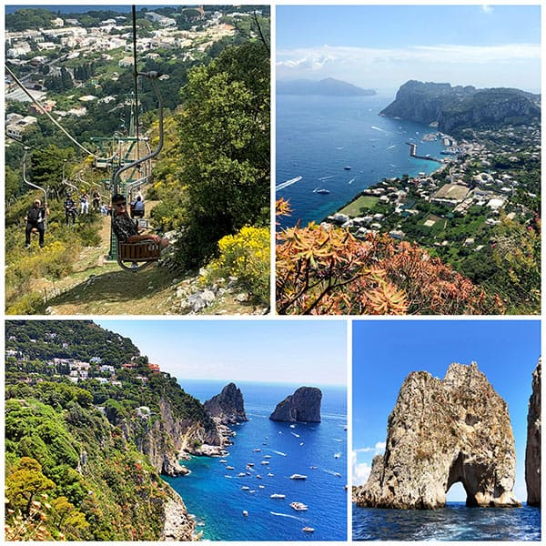 The beautiful island of Capri