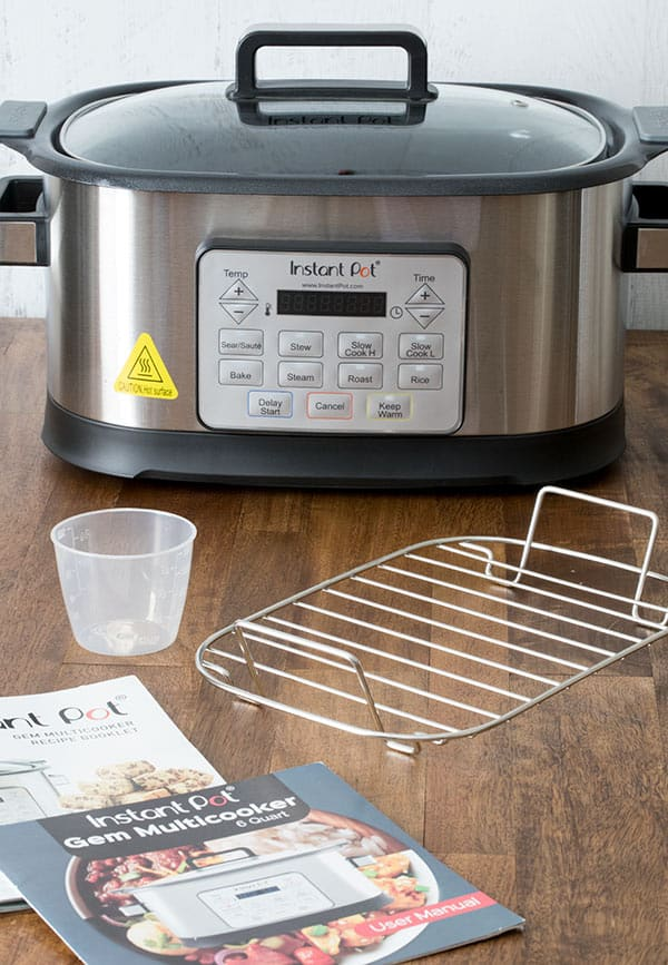 Have you heard of the Instant Pot Gem Multicooker? It's not a pressure cooker. Read my Instant Pot Gem Multicooker Review to find out what this 8-in-1 Multicooker can do.