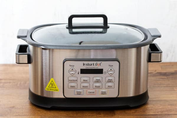 The Instant Pot GEM is a Slow Cooker, but it has added features that make it so much more than a Slow Cooker.