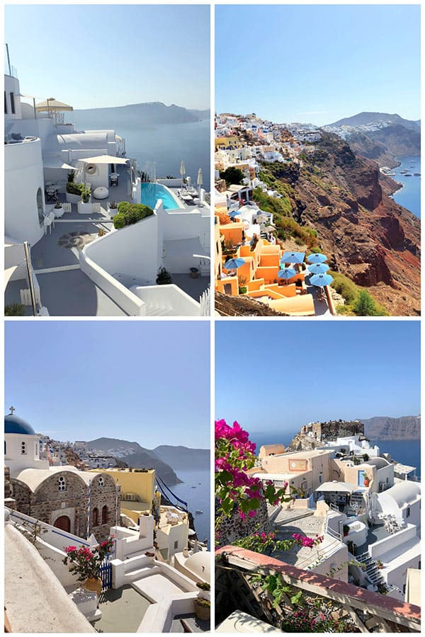 Picturesque Santorini, Greece