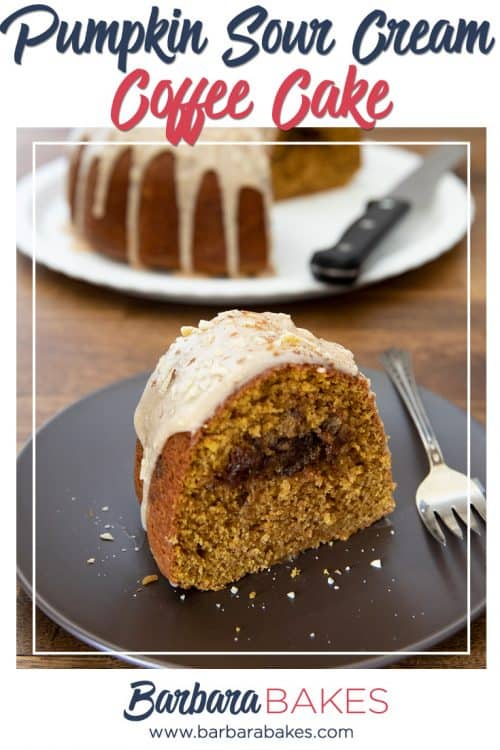 Pinterest Pumpkin Sour Cream Coffee Cake