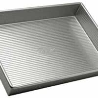 USA Pan Bakeware Rectangular Cake Pan, 9 x 13 inch, Nonstick Aluminized Steel
