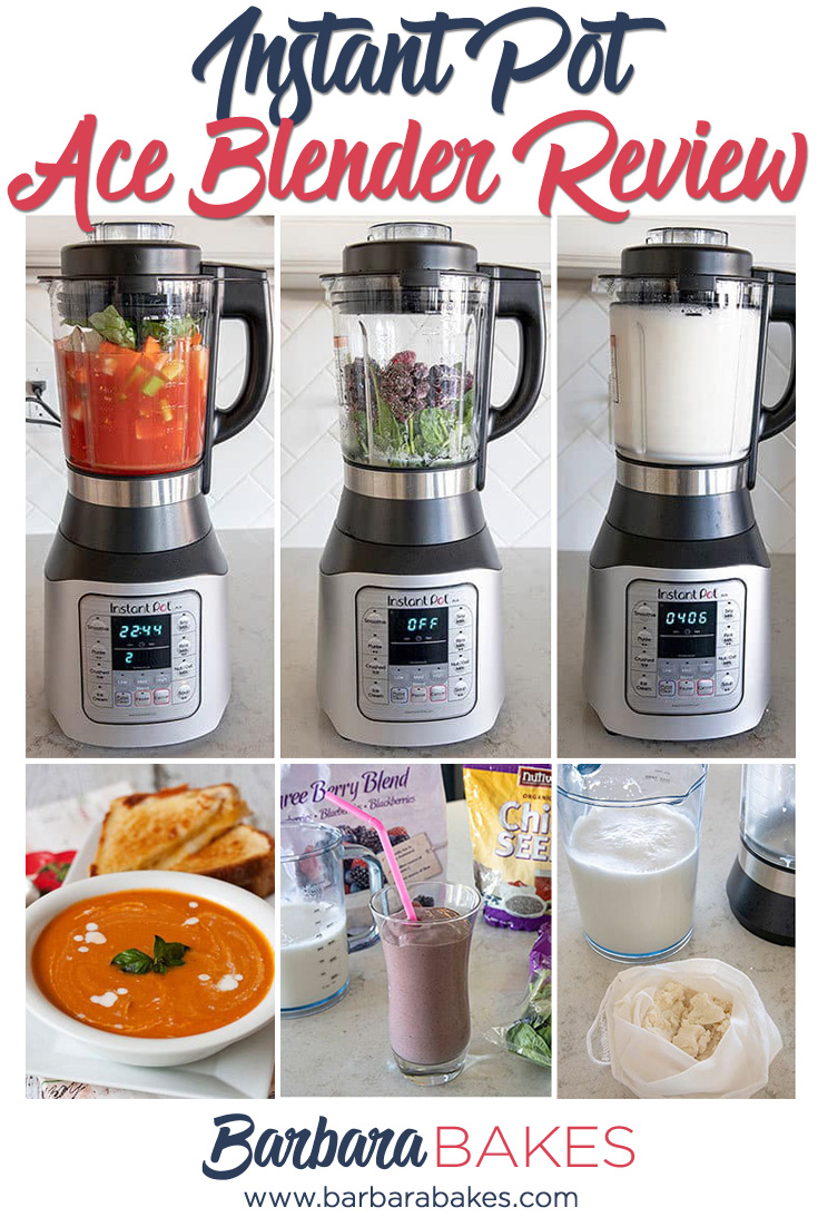 Instant Pot Ace Blender Review - What you'll love and what you'll have to get used to. via @barbarabakes