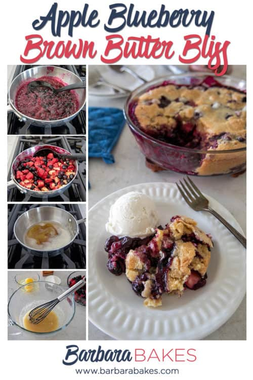 Apple Blueberry Brown Butter Bliss
