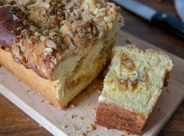 Lemon Streusel Twisted Babka