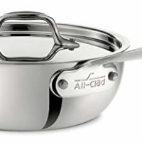 All-Clad 4212 Saucier Pan, 2-Quart, Stainless Steel