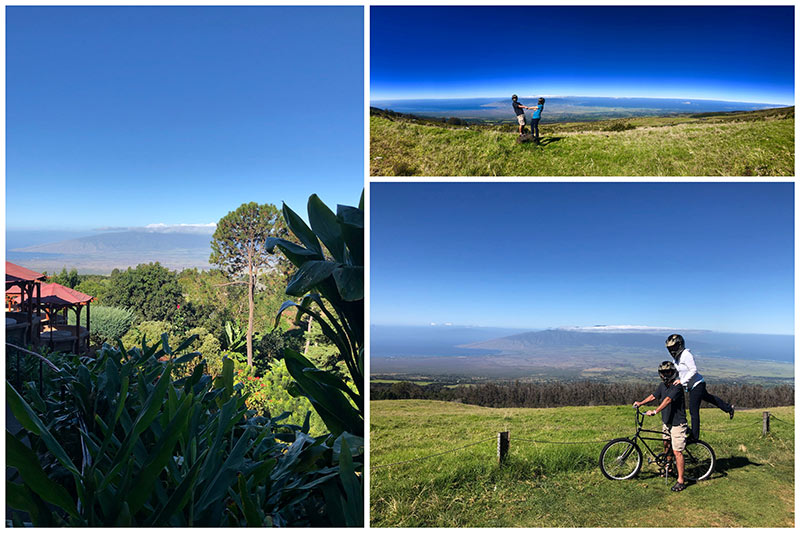 Maui Easy Riders for a bike ride down Haleakala, Maui's largest volcano
