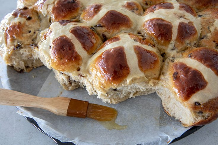 Orange Currant Hot Cross Buns