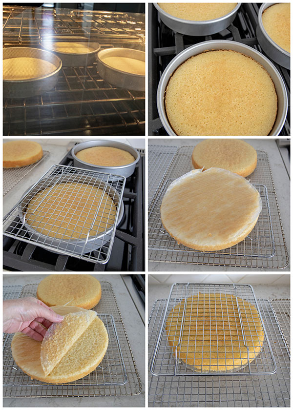 How to turn a cake out of the cake pan.