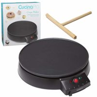 Electric Crepe Pan with Spreader