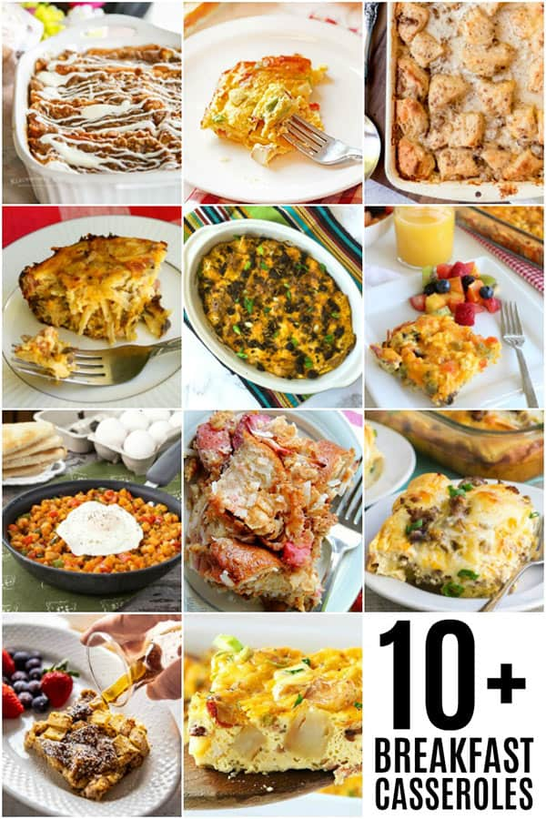 Breakfast Casserole Roundup Photos