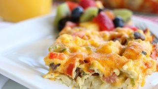 Breakfast Hashbrown Casserole