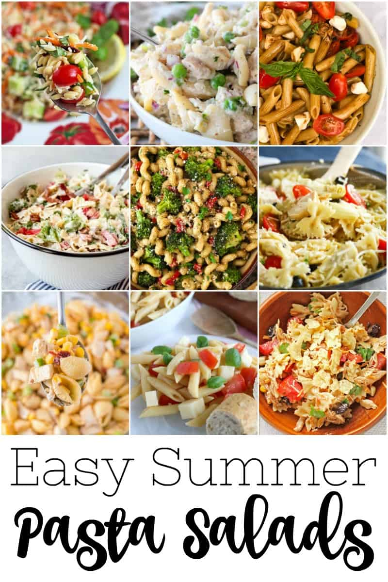 Easy Summer Pasta Salads