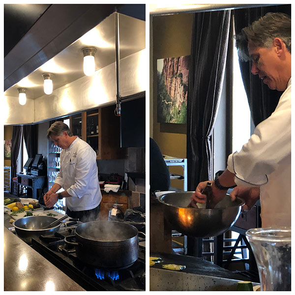 Red Mountain Resort Cooking Demo