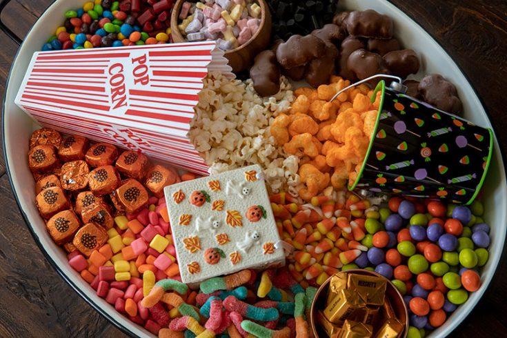 Halloween Movie Night Board