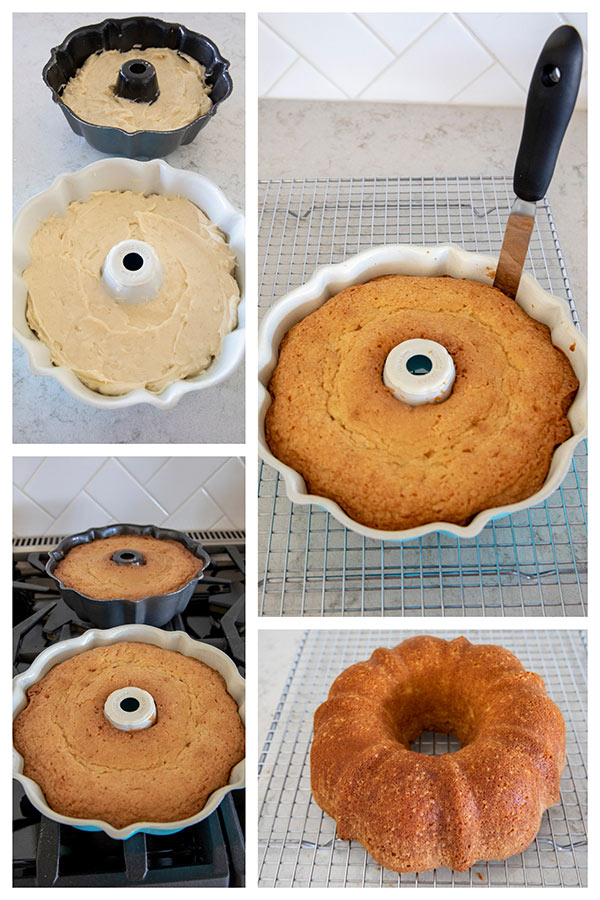How to remove a bundt cake from bundt pan