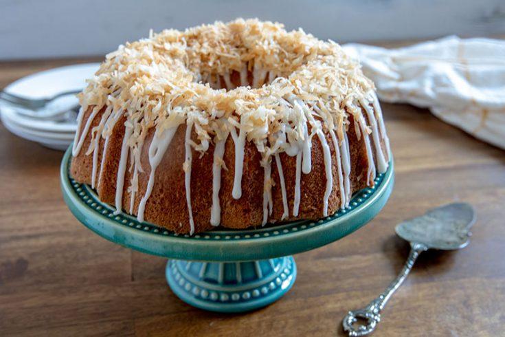 The Best Ever Coconut Bundt Cake
