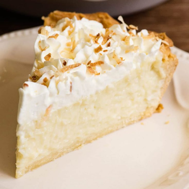 Coconut Cream Pie Recipe and Video