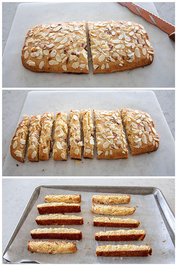 How to cut Low Carb Almond Biscotti