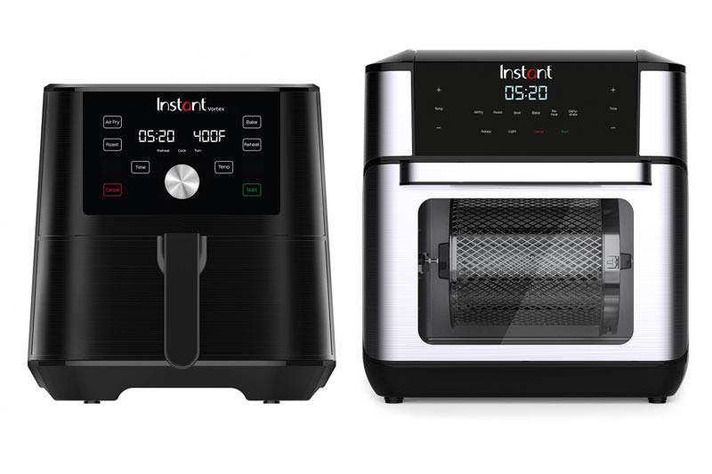 Instant Vortex 6 Quart Air Fryer and the Instant Pot Vortex 10 Qt Oven Air Fryer