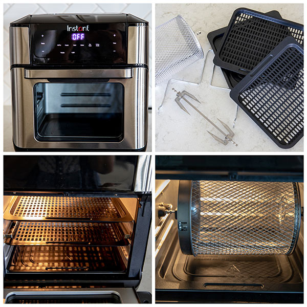 Instant Vortex Air Fryer Oven and Accessories