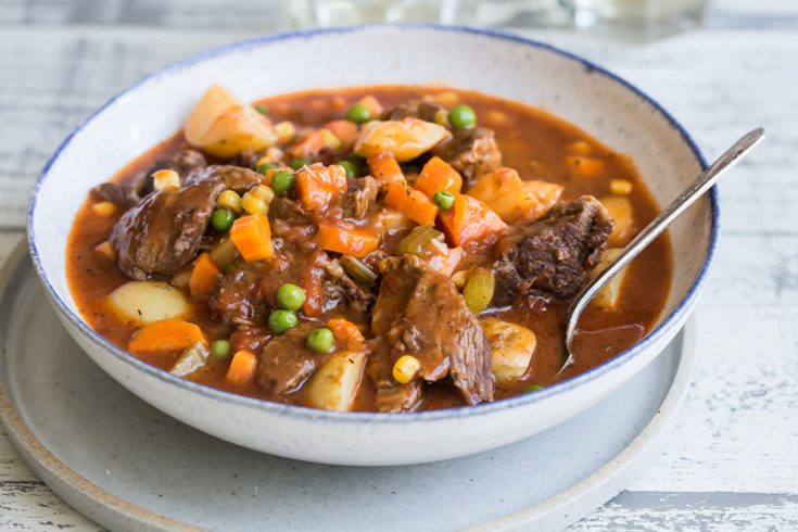 Old-Fashioned Instant Pot Beef Stew Recipe