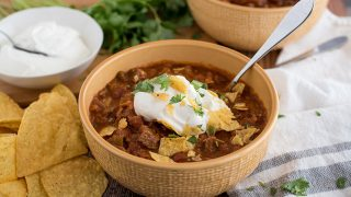 Beef and Bean Pressure Cooker / Instant Pot Chili